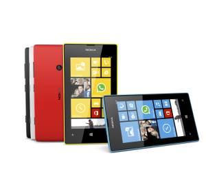 De kleuren van de nieuwe Nokia