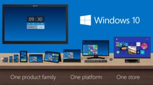 Windows 10 familie
