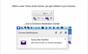 Yahoo chrome add-on